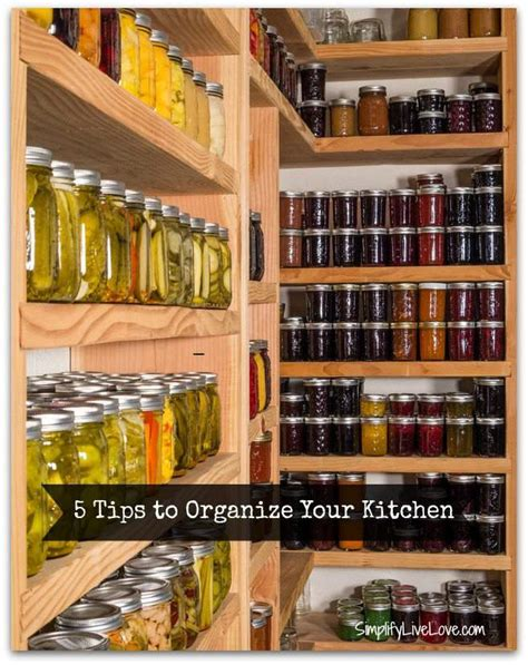 how to organize a large kitchen organization tips tricks hacks for large families 8766