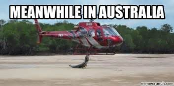 Meme Australia - meanwhile in australia