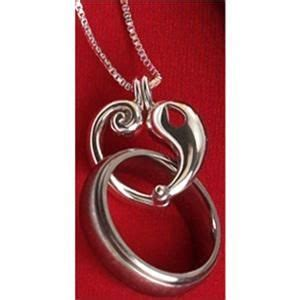 necklace to hold wedding ring of a loved one that has diamonds are a best friend