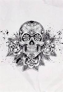 Rose skull iPhone background wallpaper | Background ...