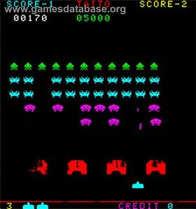 Space Invaders Part II Arcade Games Database