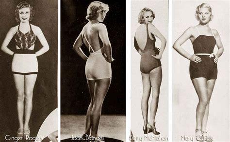 1930's Swimwear of the Stars !   Glamourdaze