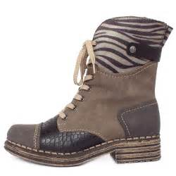 womens boots grey rieker sabatini y9624 46 39 s fashion combat winter boots in grey