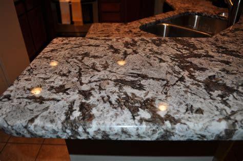 our bianco antico granite countertop in our kitchen