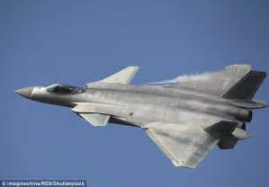 Chinese J-20 Stealth Fighter Jet