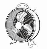 Fan Vector Premium Template Electric Illustration sketch template