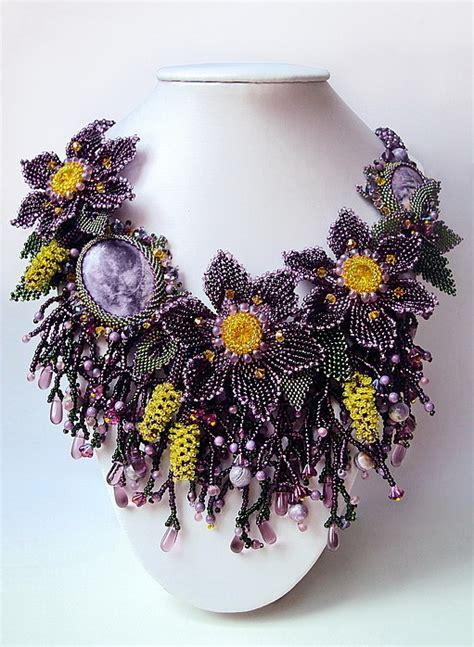 beautiful beaded jewelry  natalia savelieva beads magic
