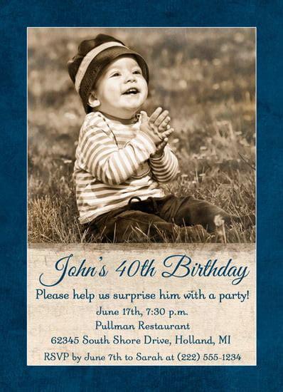 40th Birthday Invitations Ideas Bagvania FREE Printable