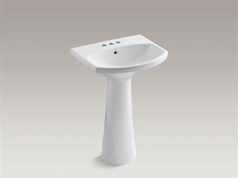 kohler cimarron pedestal sink standard plumbing supply product kohler k 2362 4 0