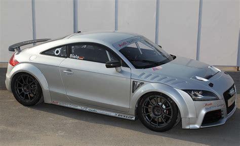 audi tt fantastic audi plans tt gt4 racer based on tt rs car and driver