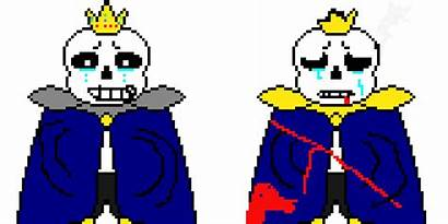 Sans Storyshift Genocide Battle End Pixelartmaker Pixel