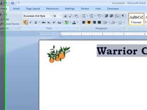 word   create letterhead   word document youtube
