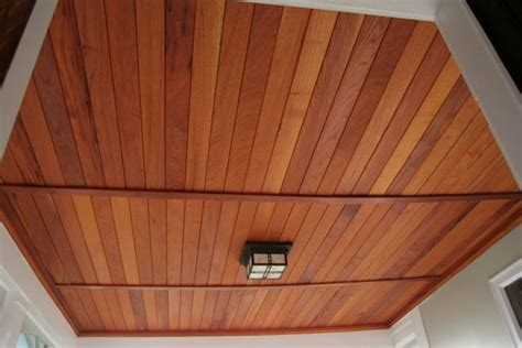 Cedar Porch Ceiling by Entryway Porch Ceiling Cedar Tongue And Groove