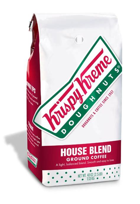 From our original glazed doughnut, to our signature coffee, baked goods, and specialty drinks, we have been offering a one of kind taste. Krispy Kreme House Blend Ground Coffee in 40oz packages - FoodBev Media