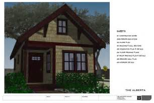 home design for small homes no 32 the alberta backyard bungalow house plan the small house catalog
