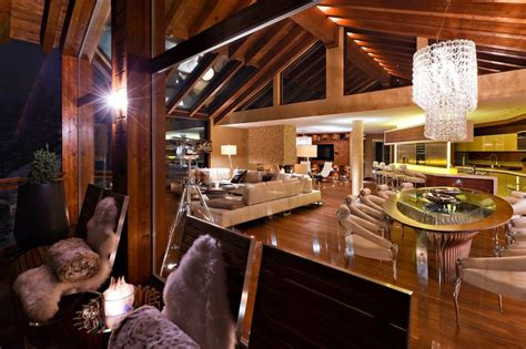 mountain homes interiors of architecture 5 luxury mountain home with an amazing interiors in swiss alps