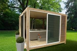 abri outsun contemporain abri lyon par alpes home With abri de jardin contemporain 16 cuisine en bois par perene