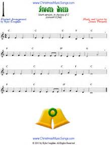 Jingle Bells Clarinet Sheet Music