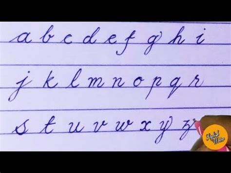 learn cursive
