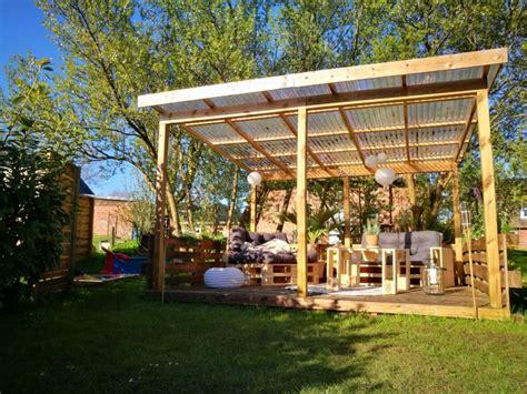überdachte terrasse selber bauen ᐅ terrasse aus paletten selber bauen palettenm 246 bel diy anleitung