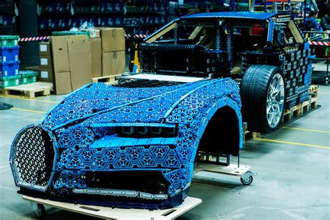 Bugatti and lego technic achieved the impossible: LEGO Technic Bugatti Chiron Life-Size Model-24 | The Brothers Brick | The Brothers Brick