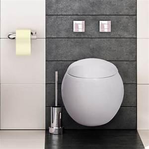 Hänge Wc : wand h nge wc sitz toilette sch ssel randlos soft silent close absenkautomatik ebay ~ Eleganceandgraceweddings.com Haus und Dekorationen