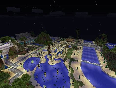 Water Theme Park V1.0 Minecraft Project