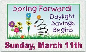 Daylight Saving Time Begins - First Baptist Church Florala