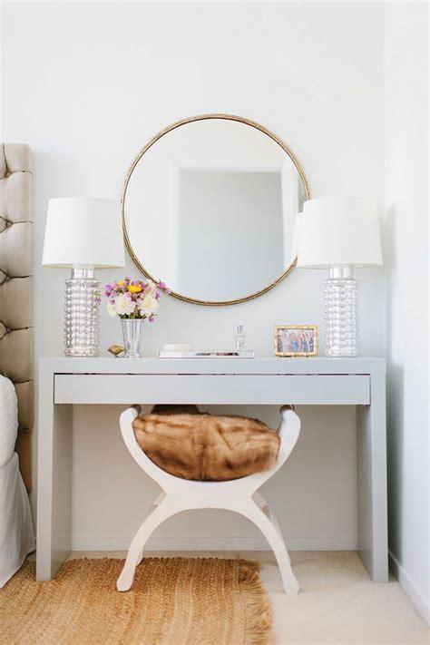 meuble coiffeuse pour chambre coiffeuse avec miroir 40 idées pour choisir la