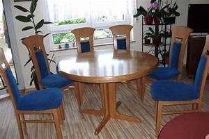 Runder Tisch Mit Stühlen : tisch rund neu und gebraucht kaufen bei ~ Eleganceandgraceweddings.com Haus und Dekorationen
