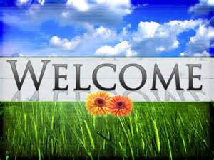 Spring Welcome Church PowerPoint