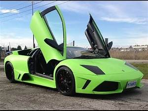 Plasti Dip Lamborghini Murcielago Pearl Lime Green by
