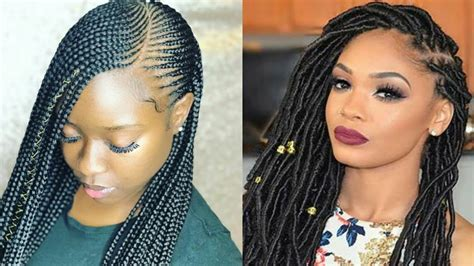 2019 Braided Hairstyles For Black Women| Compilation