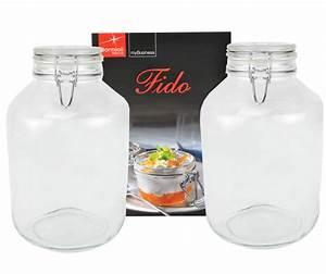 Gläser Zum Einkochen : 2er set einmachglas b gelverschluss original fido 5 0l incl bormioli rezeptheft einmachen und ~ Orissabook.com Haus und Dekorationen