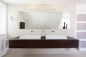 Steckdosen Für Badezimmer : koelnmoebel m bel bad doppelwaschtisch in dunkler eiche ~ Lizthompson.info Haus und Dekorationen