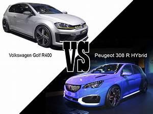 308 R Hybrid : volkswagen golf r400 vs peugeot 308 r hybrid va y avoir du sport l 39 argus ~ Medecine-chirurgie-esthetiques.com Avis de Voitures