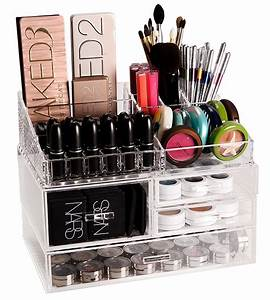 The Container Store Luxe Acrylic Modular System Makeup ...
