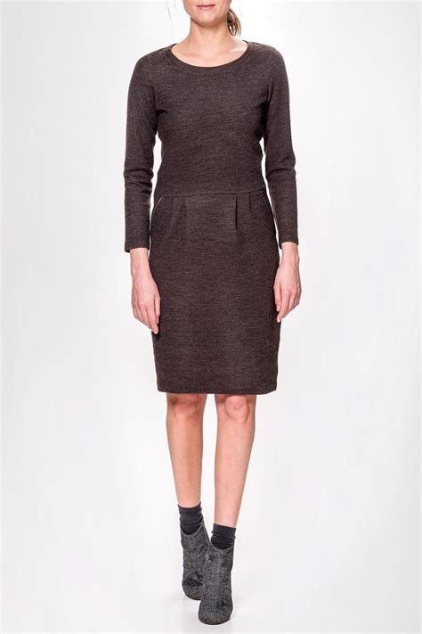 Humanoid Fitted Sweater Dress from Netherlands by Hue Wear u2014 Shoptiques