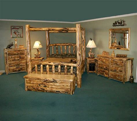 rustic chic furniture wonderful rustic bedroom interior design style with wood Rustic Chic Furniture