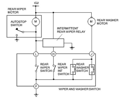 2005 Mustang Wiper Motor Wiring Diagram by Solved 1998 Toyota Tacoma Wiper Motor Fixya