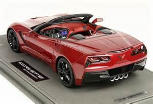 2014 corvette stingray diecast bbr models 1 18 2014 corvette stingray c7 convertible diecast zone