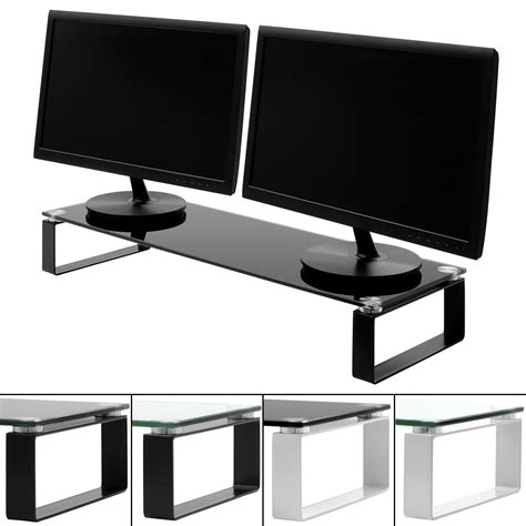 Imac Desk Mount Uk by Large Monitor Screen Riser Shelf Computer Imac