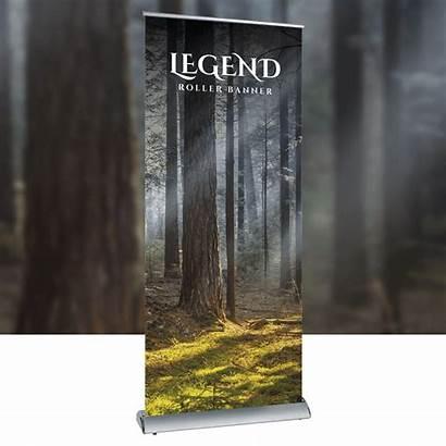 Roller Banner Legend Background Banners Premium Hi