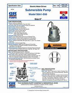 Gorman-Rupp Submersible Pump Supplier Worldwide Used 6