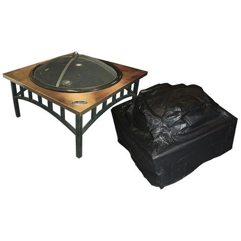 sense outdoor square pit vinyl cover 293739