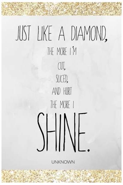 Sparkle Quotes Brighten Success Hardships Windsor Diamond
