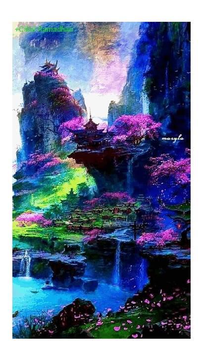 Landscape Nature Fantasy Scenery Places Landscapes Google