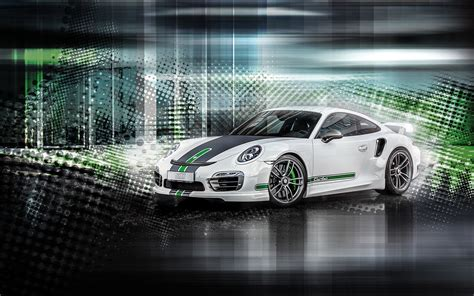 2015 Techart Porsche 911 Turbo Wallpapers