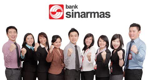 lowongan kerja lowongan kerja pt bank sinarmas