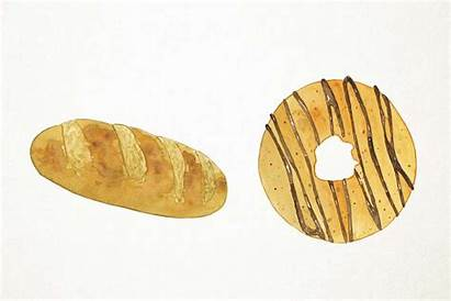 Bakery Clipart Clip Pastries Watercolor Thehungryjpeg Cart